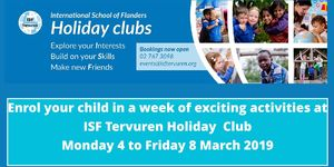 HOLIDAY CLUBS at TERVUREN
