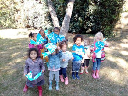 Pre school international day of peace