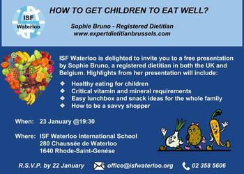 An Invitation - How to get Children to eat Well