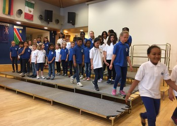 ISF Waterloo and ISF Tervuren Participate in International School Choir Day!