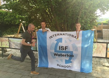 ISF Waterloo Participates in Brussels 20k!