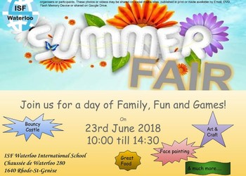 Summer Fair - 23 June @ 10am!