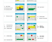 Calendar 18 19 New